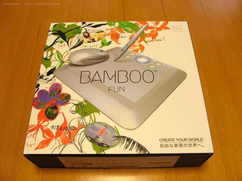 Wacomの「Bamboo fun」